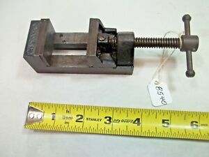 Stanley Machinist Small Drill Vise 1 1 2 Wide Jaws Opens To 1 7 16 Usa