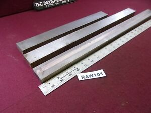 A6 A 6 Tool Steel 3 4 X 1 1 2 Assorted Lengths Of Flat Stock Lot Of 3 Raw101