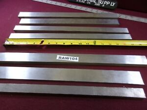 A2 A 2 Tool Steel Misc Flat Stock Pieces Lot Of 7 Raw104