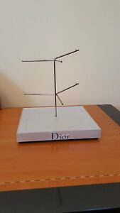 Dior Eyewear Display Fixture Metal plastic Color Silver 7 7 7 5 2 Lb