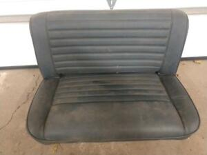 Jeep Cj Rear Seat Slate Blue Fixed Back Amc Cj7 Laredo Scrambler 76 86