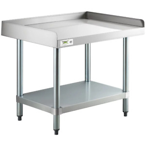 24 X 30 Stainless Steel Table Commercial Heavy Equipment Mixer Grill Stand