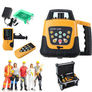 Green Beam Self leveling Horizontal vertical 360 Degree Rotary Laser Level Kit