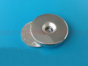 Wholesale 30mm X 3mm Countersunk 5mm Disc Strong Magnet Rare Earth Neodymium N50