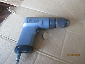 Snap on Pd3a 3 8 Heavy Duty Air Drill Pneumatic Tool Usa Made Tested Working