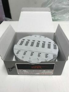 Sanding Disc 6 2000 Grit Hook And Loop Disc 50 Pieces Auto Body