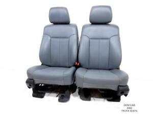 Ford Super Duty F250 F350 Vinyl Work Seats 2010 2011 2012 2013 2014 1999 2014