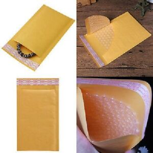500 Pk Kraft Bubble Mailers Padded Envelopes Protective Packaging Pouch 00 6x10