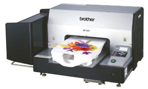 Brother Gt 541 Direct To Garment Digital Printer