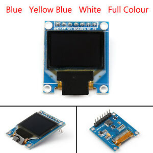 0 95 0 96 I2c Iic Serial Display Module Full Color 7pin Oled For Arduino B1