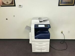 Xerox Workcentre 7845 Color Copier Machine Network Printer Scanner Fax Copy Mfp