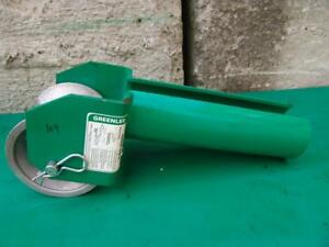 Greenlee 441 4 Cable Tugger Puller Feeding Sheave Great Shape