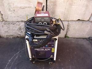 Thermal Arc Fabstar 4030 Welder With Ultrafeed 4000 Wire Feeder Works Great 3