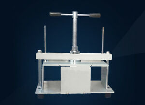 New Stainless Steel A4 12 8 6 Size Manual Flat Paper Press Machine