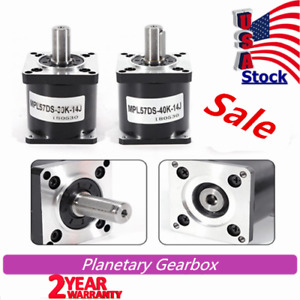 Nema 23 Electric Planetary Reduction Gear Motor Gearbox Speed Reducer Ratio 40 1