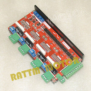 4 Axis Controller Board 2 Ph 4a Stepper Motor Driver Dd8727t4v1 For Cnc Router