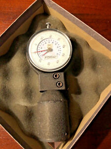 Vintage Fowler Internal Dial Chamfer Gage Tool Model 53 785 100 In Box f