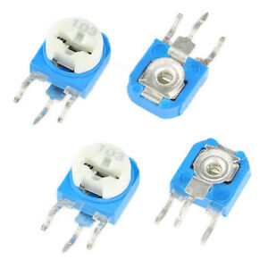 Rm063 Vertical Variable Potentiometer Trimmer Resistors Wh06 Pot 100 To 1m