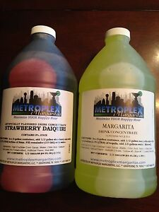 Mixed Case Margarita Slush Granita Mix Frozen Drink Concentrates