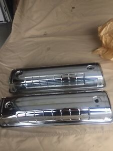 Ford 272 292 312 Block Y block chrome Valve Covers