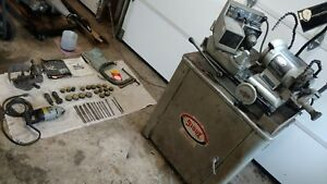 Sioux Valve Grinder 2001 And Valve Seat Grinder 1710 With Cabinet And Extras