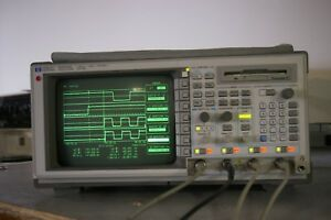 Hp 54540a 500 Mhz 2gsa s 4 Channel Digital Oscilloscope W Probe Cal d Fft Nice