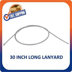 500 Security Lanyard 30 Inch Long Wire Ball Point For Retail Hard Tags