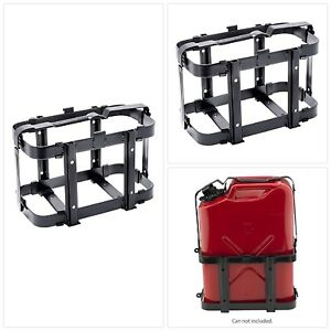 Jerry Gas Can Holder Universal For 20l 5 Gal Jug Heavy Duty Fuel Mount Carrier