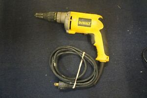 Dewalt Dw272 Vsr Drywall Screwdriver Corded Tested Works Great Free Shipping