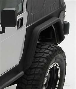 Smittybilt Xrc Rear 3 Fender Flares Black Textured For 76 86 Jeep Cj7