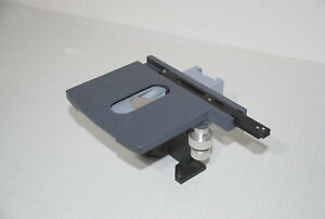 Olympus Microscope 3 Axis Stage Plate Table Used Part Free Ship j2 c