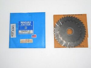 Nst 6021 Niagara Staggered Tooth Metal Slitting Saw 6 X 1 8 X 1