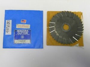 Nst 6721 Niagara Staggered Tooth Metal Slitting Saw 6 X 5 32 X 1