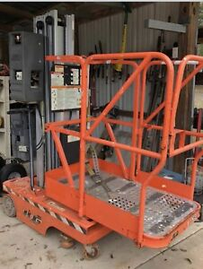 2000 Jlg 12sp Personnel Lift Genie 18 Working Height Manlift Lift Stock Picker