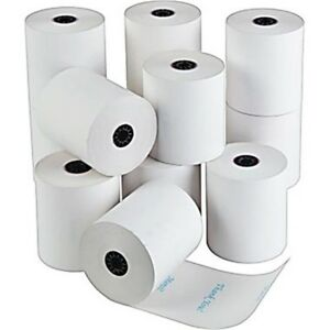 3 1 8 X 230 Case Of 50 Thermal Receipt Paper Rolls For Any Pos Printer