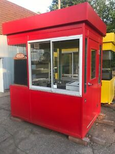 Small Metal Building Equipped W Pizza Equipment Food Truck Or Place On Trailer