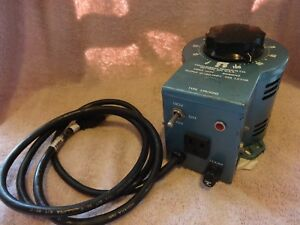 Staco Energy Prod Variable Autotransformer Type 3pn1010