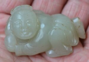 Fine Antique Chinese Carved Jade