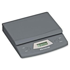 Brecknell Digital Postal Shipping Scale Usps Mail Battery Or Ac 25lb Capacity