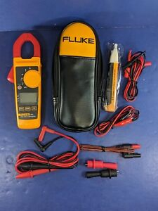 New Fluke 324 Trms Clamp Soft Case Accessories