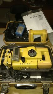 Topcon Gts 301d Total Station