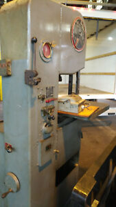 Doall Vertical Bandsaw 1612 0 16 Variable Speed