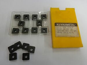 16 Kennametal Carbide Inserts Snmm434 Kc910 Stk8090