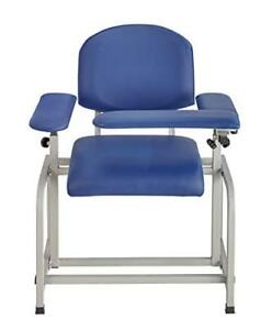 Adirmed Padded Blood Drawing Chair Blue