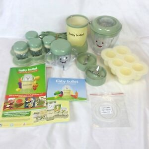 Magic Bullet Baby Bullet Organic Healthy Food Making System  Storage Set