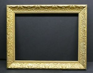 Vintage Embossed Ornate Cove Art Frame 16 X 12