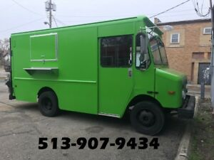 Food Truck Equipped With Commercial Nsf Restaurant Equipment Send Offer