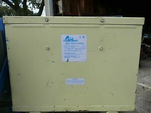 Acme T 3 53311 15 Transformer 15kva 3ph 480 Primary 208 120 Secondary