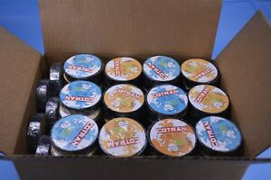104 Rolls Wholesale Lot Cotran Ul listed Electrical Insulating Tape 105c 600v