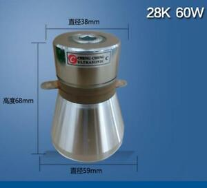 2pc 60w 28khz Pzt 4 Ultrasonic Piezoelectric Cleaning Transducer With Discount